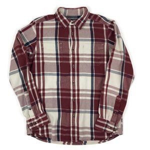 The North Face Flannel Plaid Button Down Shirt